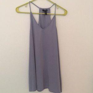 pale blue shift dress